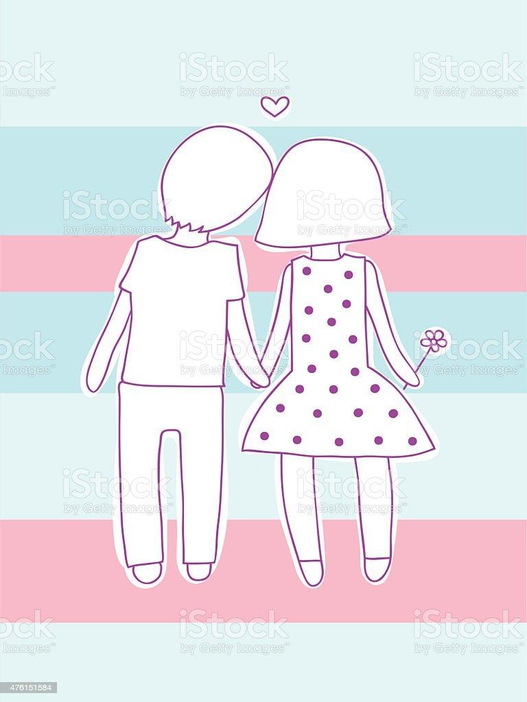 愛するカップル のイラスト素材 476151584 | istock