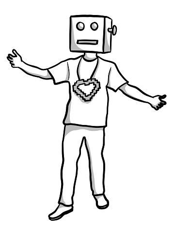 Loving Digital Icon Costume