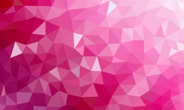 bildbanksillustrationer, clip art samt tecknat material och ikoner med låg poly rosa bakgrundsfärg - rosa bakgrund