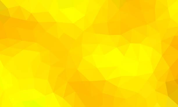 bildbanksillustrationer, clip art samt tecknat material och ikoner med låg poly gul bakgrundsfärg - gul bakgrund