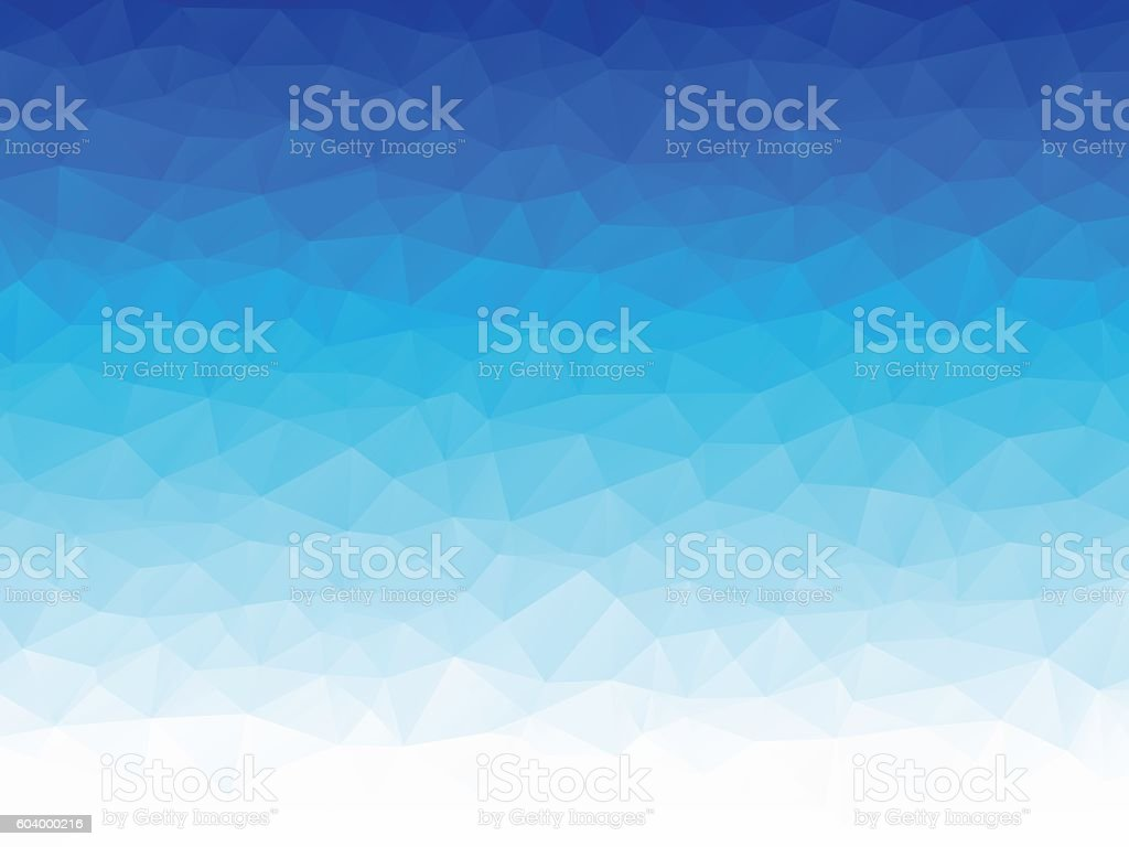 low poly blue ice texture vector art illustration
