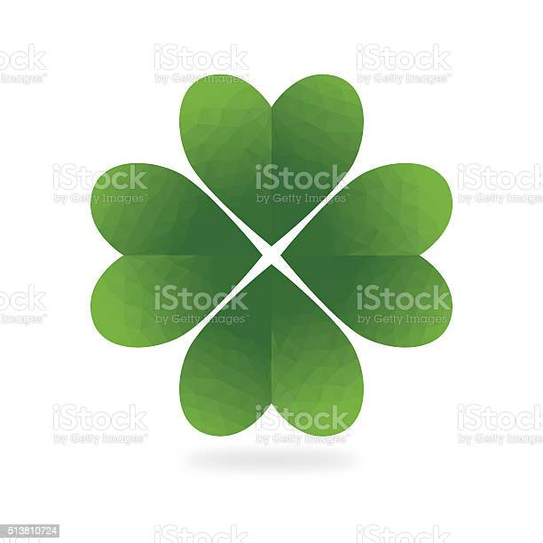Low poly green four leaf clover white background vector id513810724?b=1&k=6&m=513810724&s=612x612&h=jep3r yjs2cox392 csuhwsf3fygqzjhjdfhw2vftve=