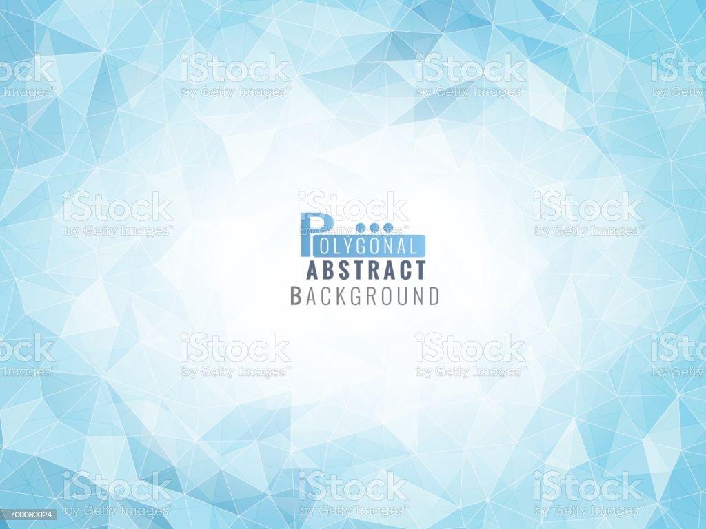 アートワークの低ポリ ライト ブルー BG ベクターアートイラスト