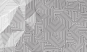 Geometrical linear background texture.
