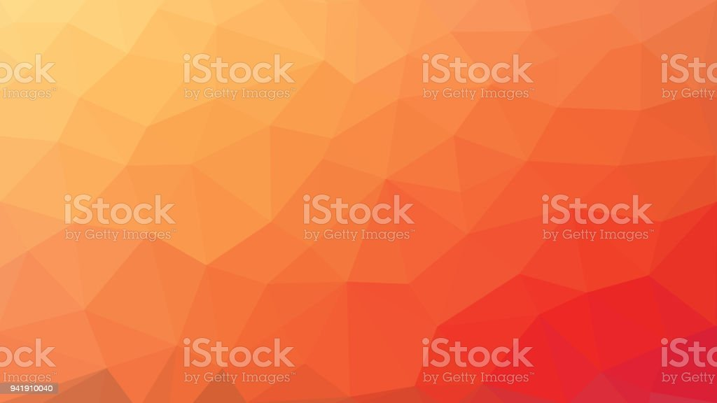 low poly orange red gradient background royalty-free low poly orange red gradient background stock illustration - download image now