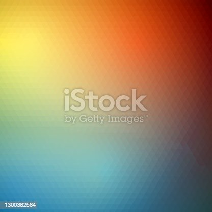 istock Low poly small fine triangles. 1300382564