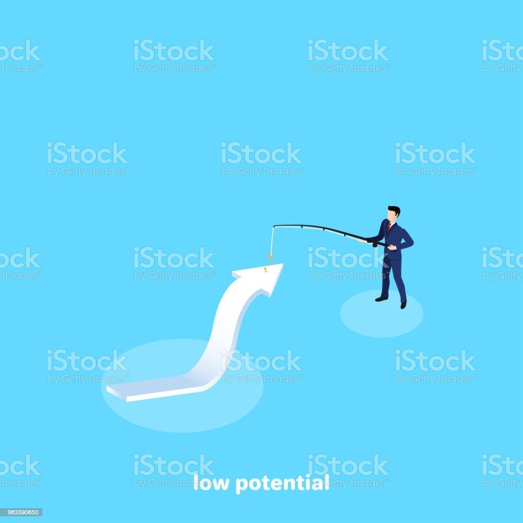 niski potencjał - Grafika wektorowa royalty-free (Abstrakcja)