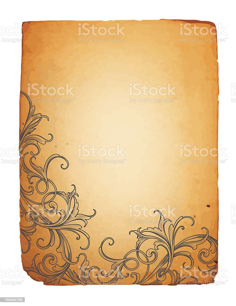 Lower Corner Acanthus royalty-free lower corner acanthus stock vector art & more images of 19th century style