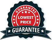 Lower Price Guarantee label illustration