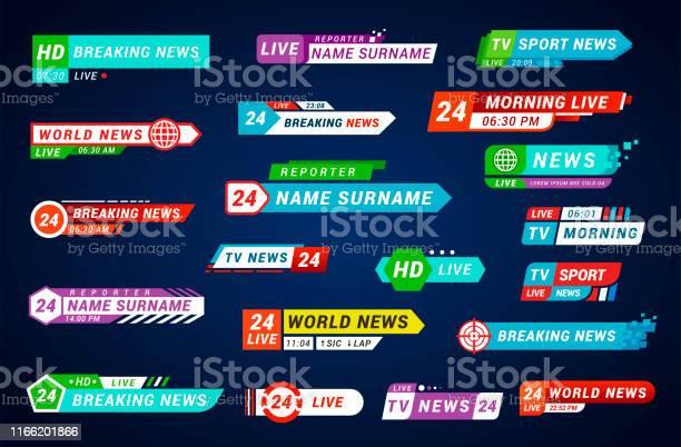 Lower third tv titles set design for broadcasting and television vector id1166201866?b=1&k=6&m=1166201866&s=612x612&h=gw9k1jnwp pabnioazd5ju lqtxq7dvrchlolpntatg=