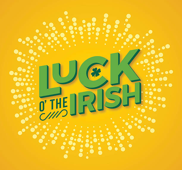 Luck o' the Irish vector art illustration