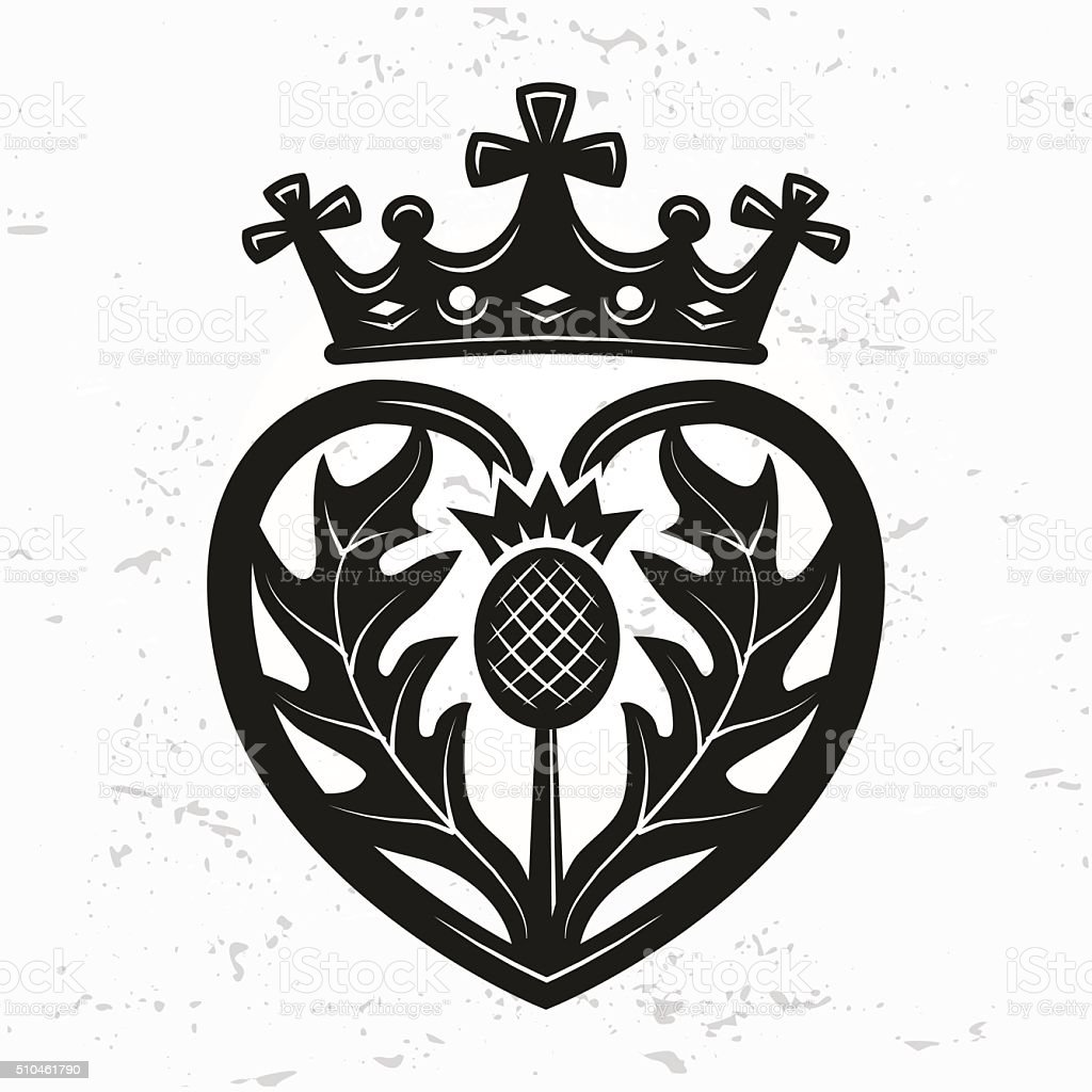 Scottish Ring Heart Crown