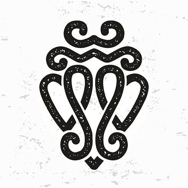 luckenbooth vektor. schottische valentinstag oder keltische hochzeit liebe symbol - hochzeitsanstecker stock-grafiken, -clipart, -cartoons und -symbole