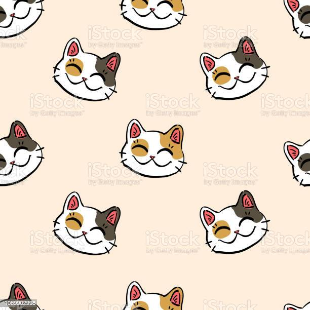 Lucky cat pattern on beige background vector id1089902998?b=1&k=6&m=1089902998&s=612x612&h=m35qhzqmo2x8z8f bd7qammxpncrk2vmcwjds6gi yy=