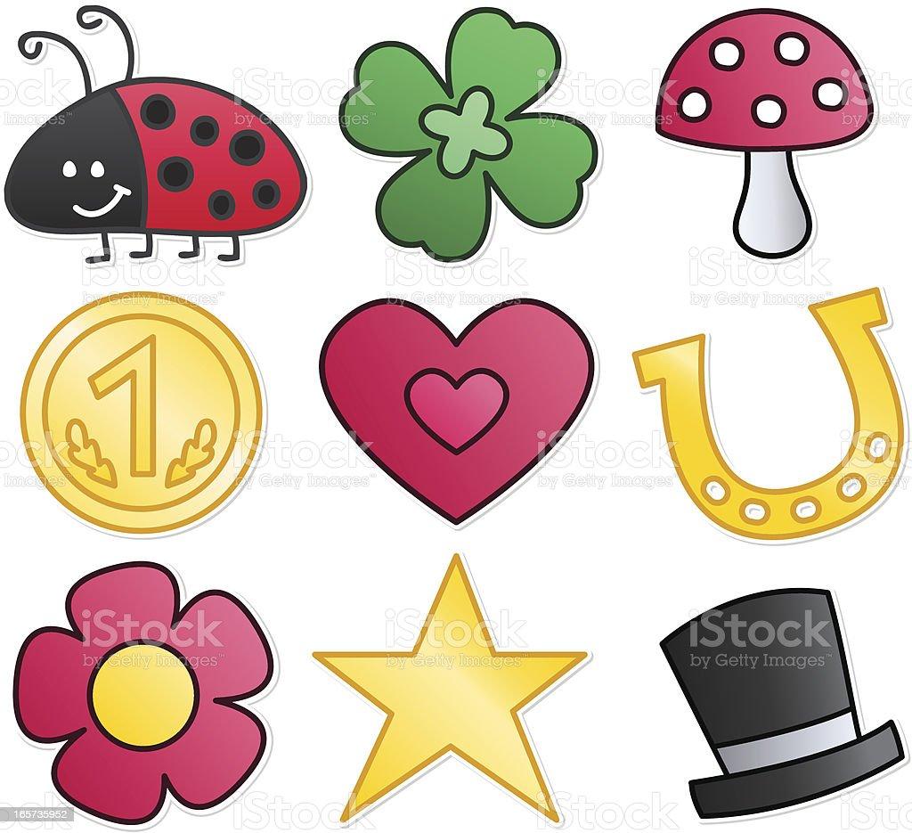 GlД'ВјCksbringer Symbole