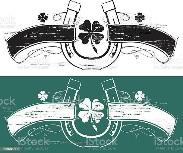 Lucky clover horseshoe banner vector id165064922?b=1&k=6&m=165064922&s=612x612&h=2uggpkzawlyygqsvyge0l oxnscc3xrwoezy xndqcg=
