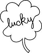 istock Lucky clover 1300422278