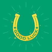 Good luck horse shoe lucky horseshoe design.