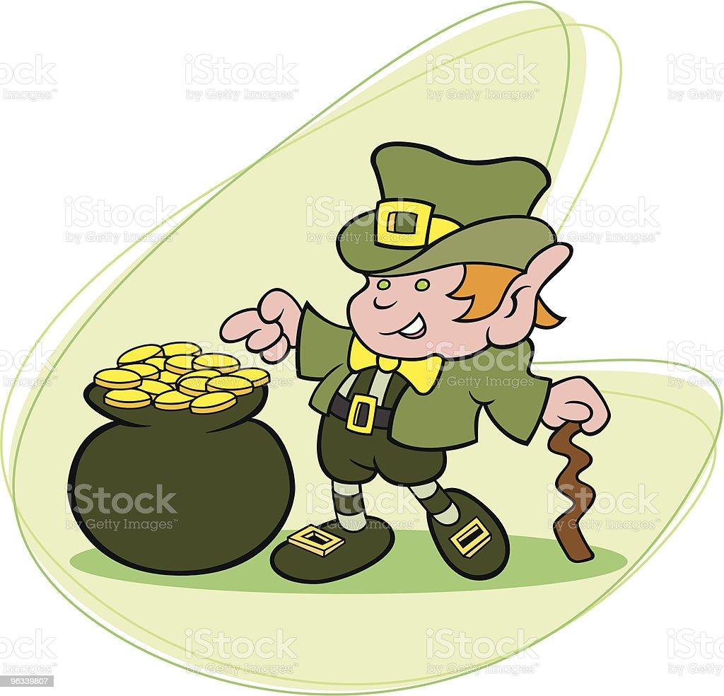 Lucky Leprechaun - Grafika wektorowa royalty-free (Dowcip rysunkowy)