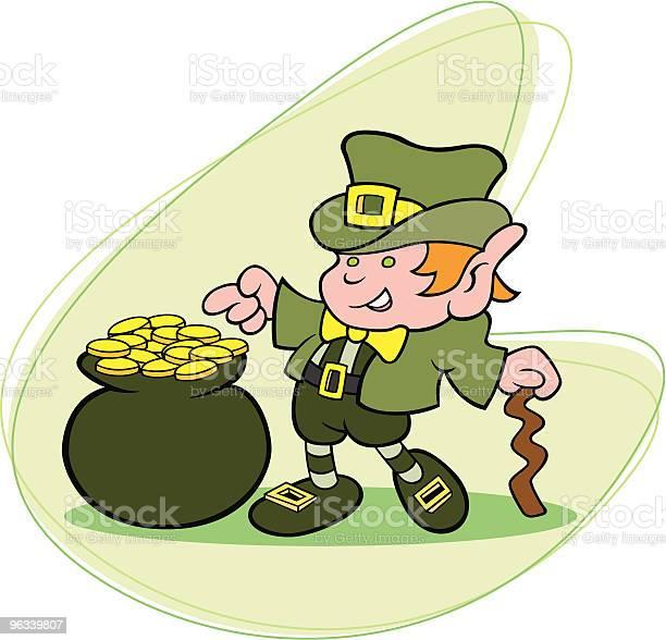 Lucky Leprechaun - Stockowe grafiki wektorowe i więcej obrazów Dowcip rysunkowy