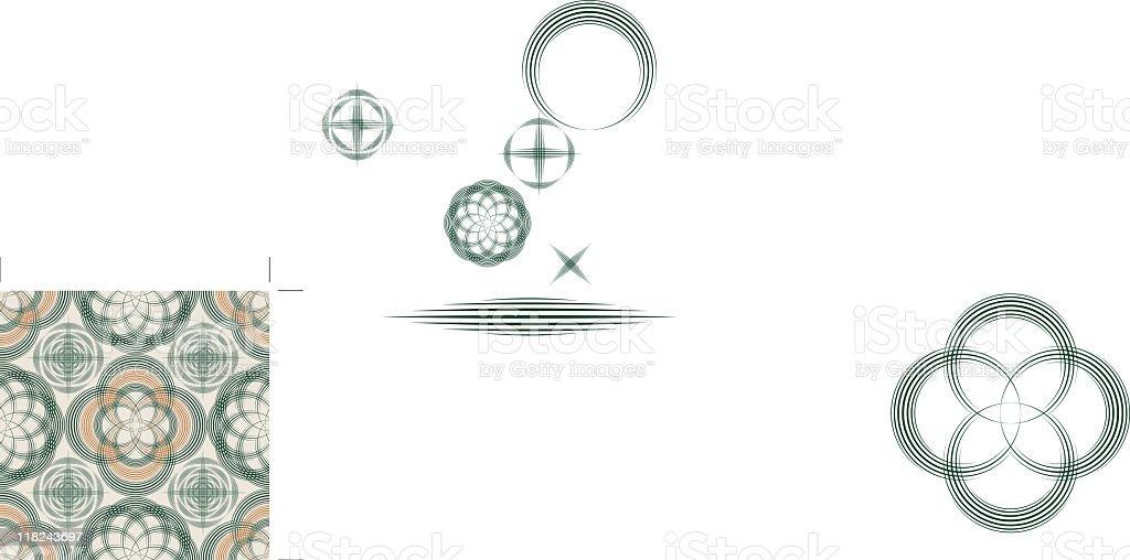 Lucky Naphtali Pattern (Seamless) royalty-free stock vector art
