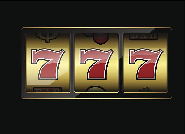 Lucky 7 - Illustration vectorielle