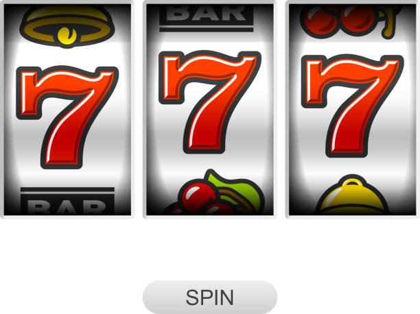 Lucky sevens jackpot - Illustration vectorielle