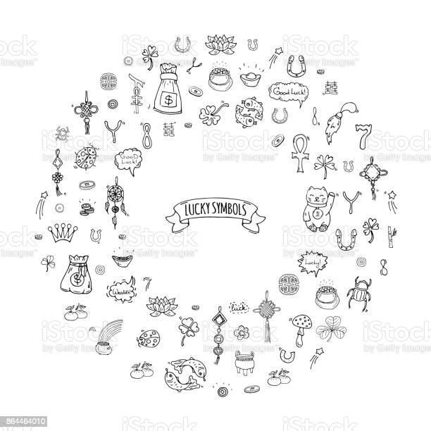 Lucky symbols vector id864464010?b=1&k=6&m=864464010&s=612x612&h=xcm2z2yfsiotb 2rvs2eyb63bd5cx9gmam29lrvaxaa=