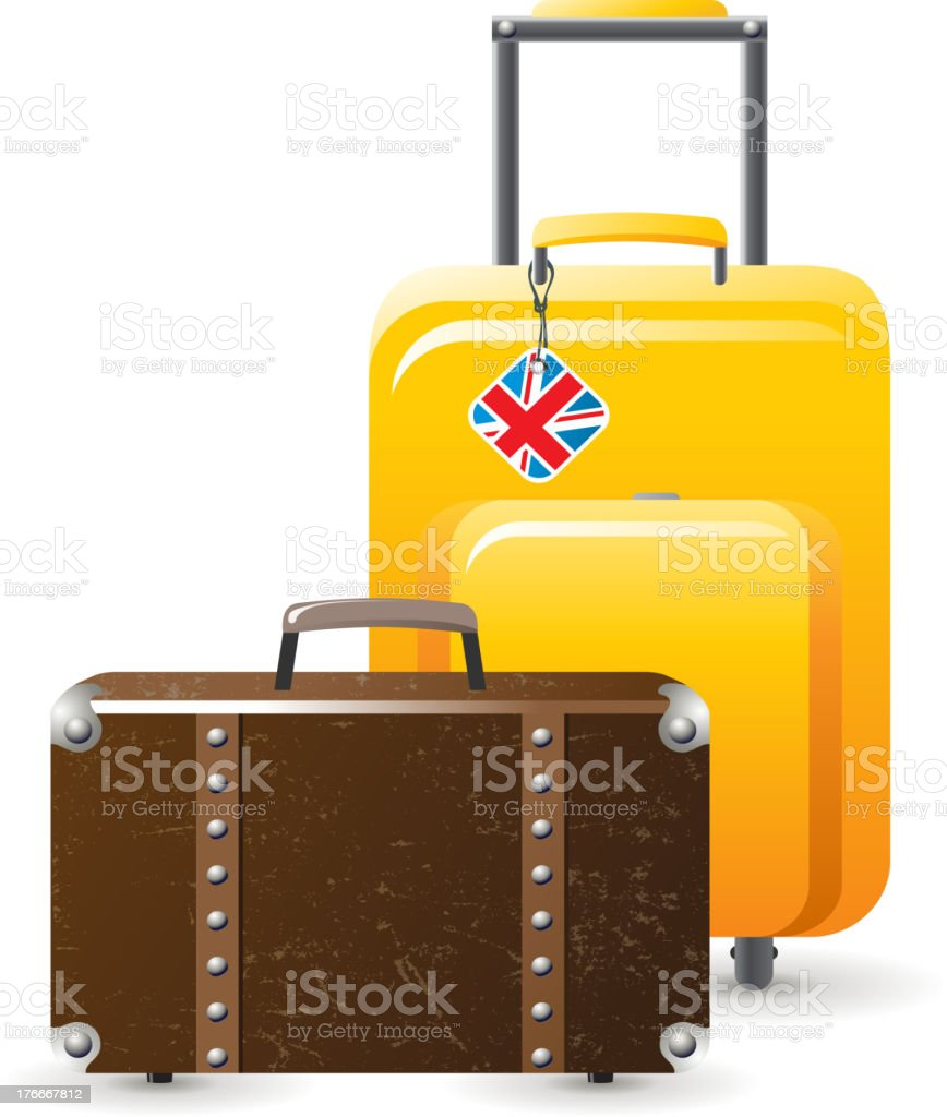 Luggage royalty-free luggage stock vector art & more images of activity