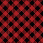 Lumberjack plaid pattern vector illustration. This is a vector image - you can simply edit colors and shapes.