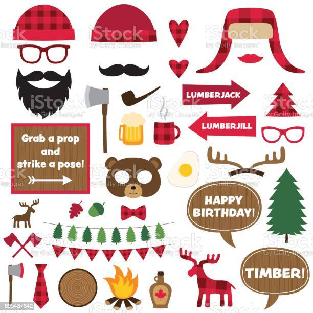 Lumberjack vector elements and photo booth props set vector id695437642?b=1&k=6&m=695437642&s=612x612&h=tftphtwlhs0yolxc3c7630d2zyaha96jigpgbjht zu=