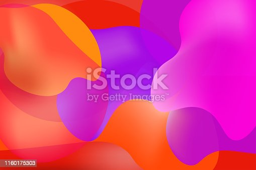 901409540istockphoto Luminous colors overlapping background 1160175303