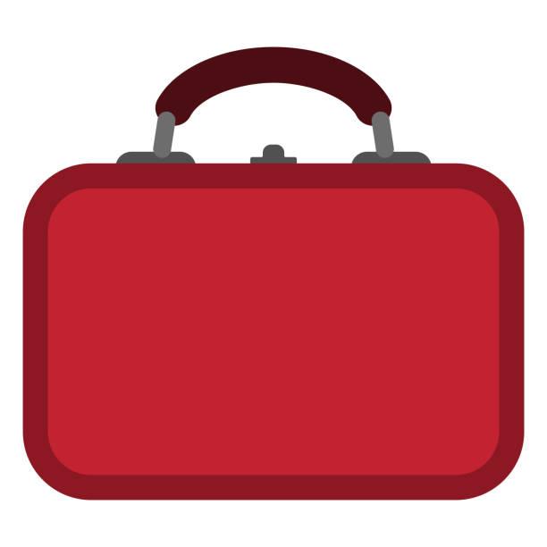 lunch box illustration - lunch box stock illustrations, clip art, cartoons, & icons