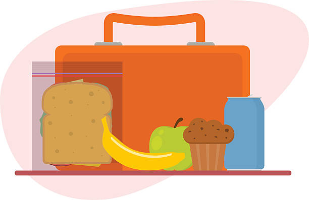 lunch box - lunch box stock illustrations, clip art, cartoons, & icons