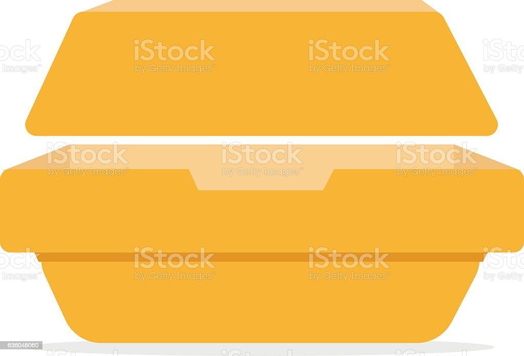 Lunchbox icon. - ilustración de arte vectorial