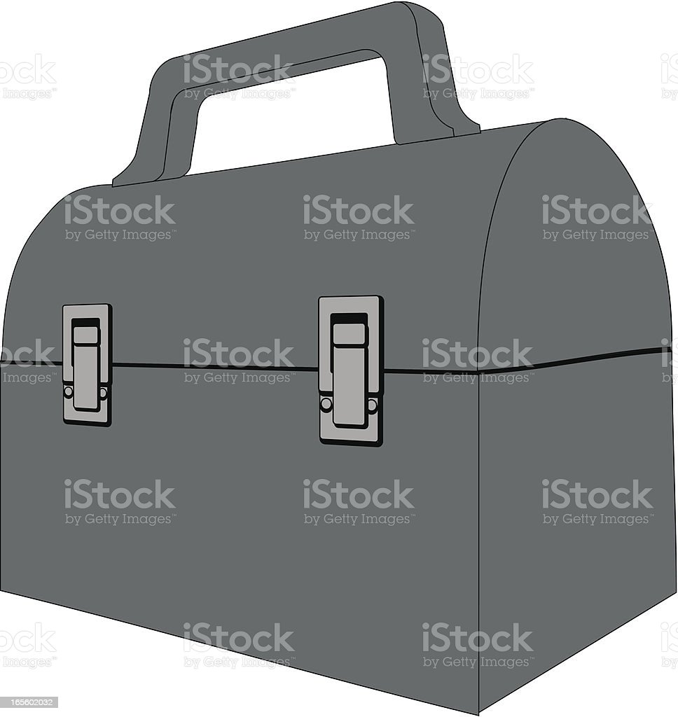 lunchbox vector art illustration