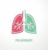 istock Lungs symbol design 1084289690