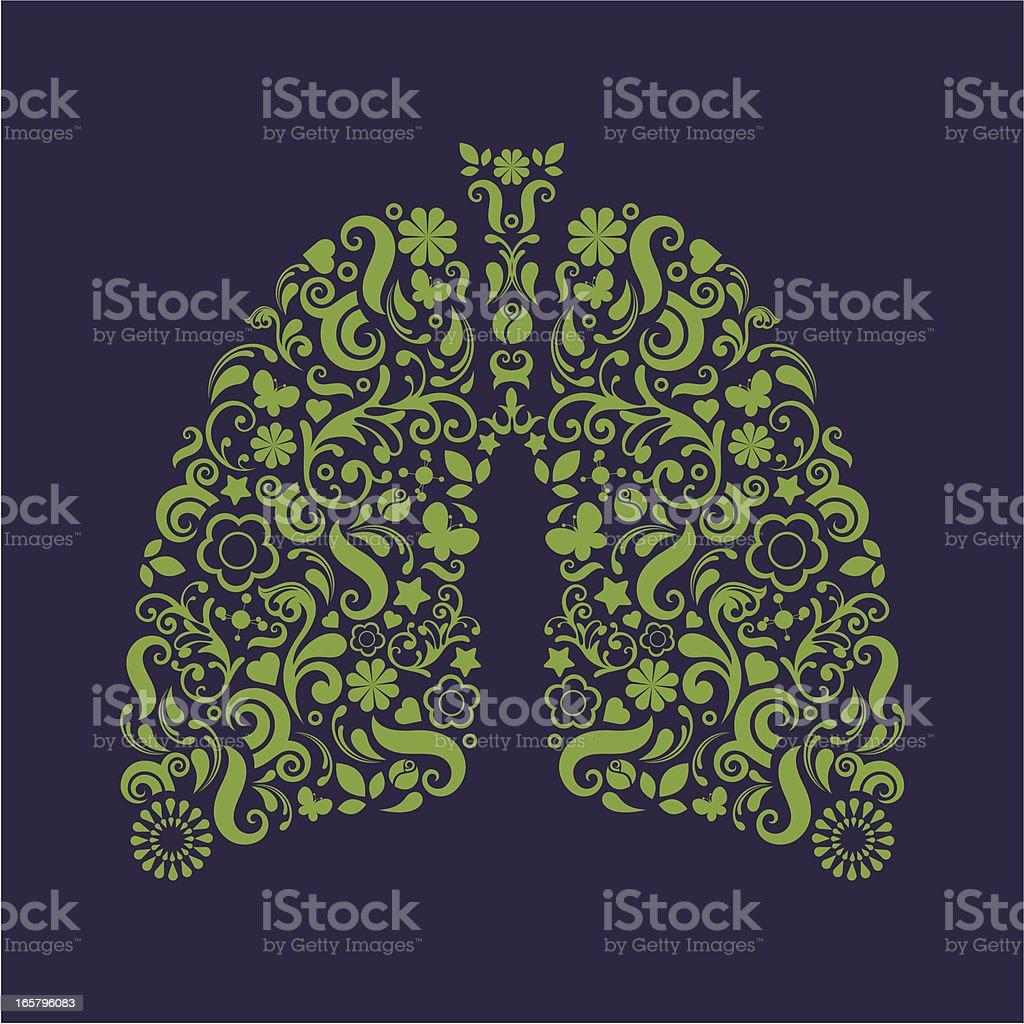 Płuc. - Grafika wektorowa royalty-free (Grafika wektorowa)
