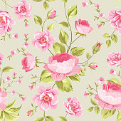 Luxurious peony wallapaper