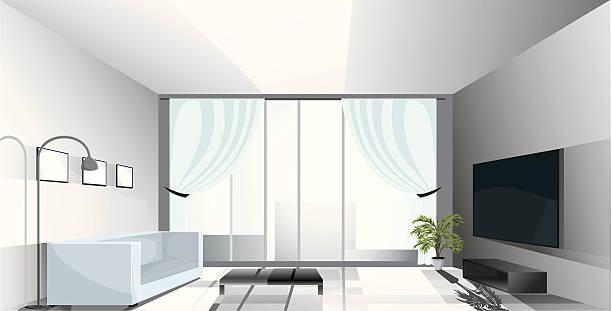 ilustrações de stock, clip art, desenhos animados e ícones de apartamento de luxo. - coffee table
