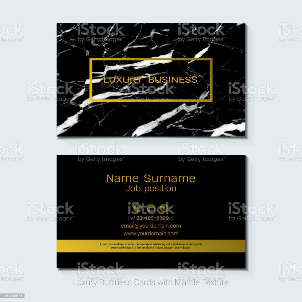 Luxury business cards vector template, Banner and cover with marble texture and golden foil details on white background, Simple style also modern and elegant, Easy to customize it to fit your needs. royalty-free luxury business cards vector template banner and cover with marble texture and golden foil details on white background simple style also modern and elegant easy to customize it to fit your needs stock vector art & more images of abstract