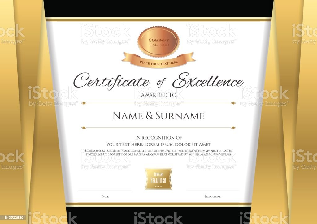 louisiana id template - ilustraci n de plantilla de certificado de lujo dise o de