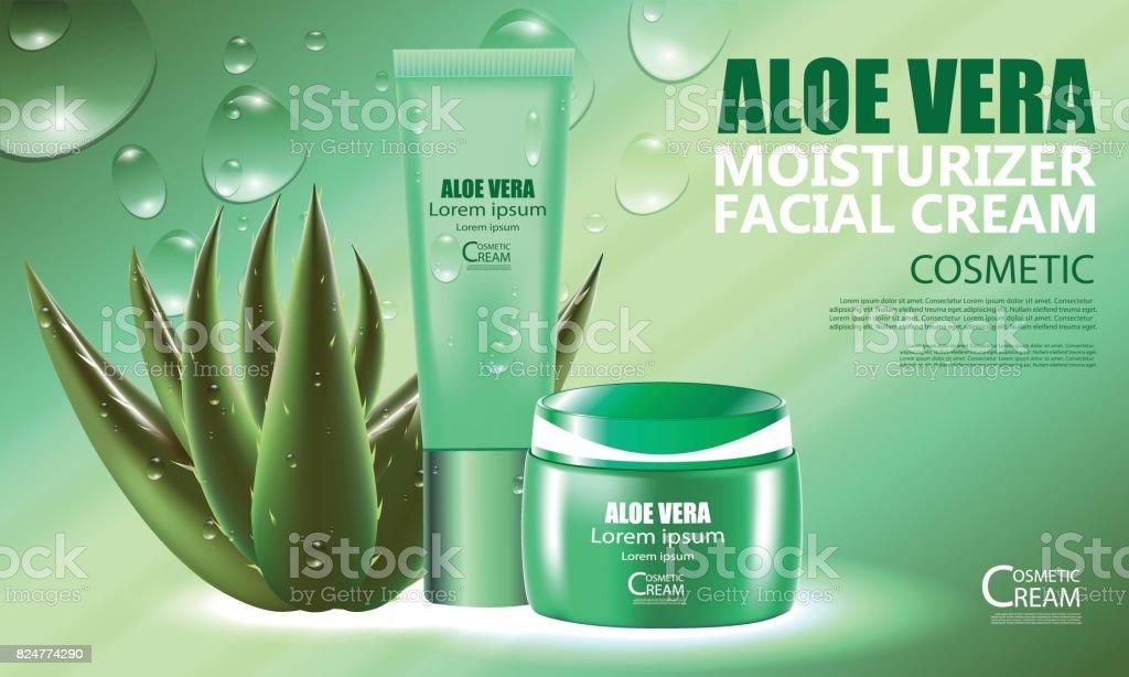 ansiktskräm med aloe vera
