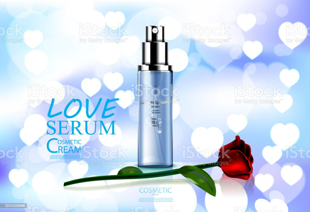Luxury cosmetic Bottle package skin care cream, Beauty cosmetic...