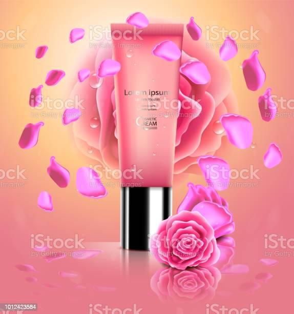 Luxury cosmetic bottle package skin care cream beauty cosmetic with vector id1012423584?b=1&k=6&m=1012423584&s=612x612&h=rukgc04hehx80lr4imnvvwg bdmqfohur7nmrigloyi=