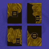 Luxury covers design. Applicable for catalog,magazine,journal,brochure etc. A4 format, eps10 vector template.