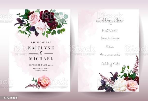 Luxury fall flowers wedding vector bouquet cards vector id1177218353?b=1&k=6&m=1177218353&s=612x612&h=hx1sofwyb7p5lwegkv o3wfcxdc3fm9xlqf76xwysow=