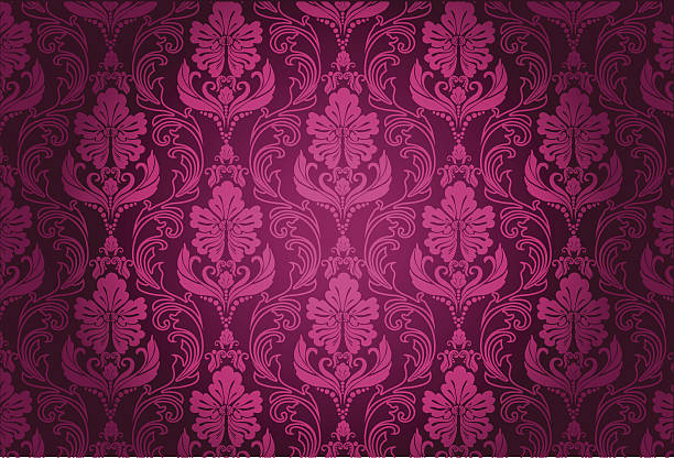 luxury floral pattern - 錦緞 幅插畫檔、美工圖案、卡通及圖標