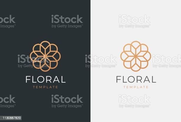 Luxury flower vector emblem universal linear floral symbol vector id1130887820?b=1&k=6&m=1130887820&s=612x612&h=sd o9xm8eojicm55oz3kftvbf6ablntaz0ez0nrpurk=