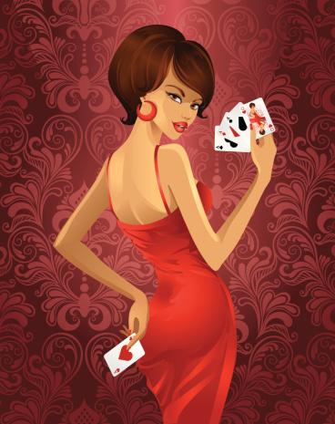 Luxury Game In Poker Stockvectorkunst en meer beelden van Alleen volwassenen